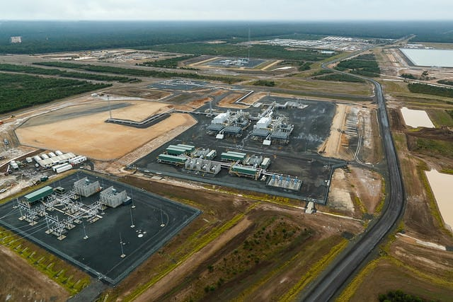 Upstream processing facilities come online at Curtis LNG